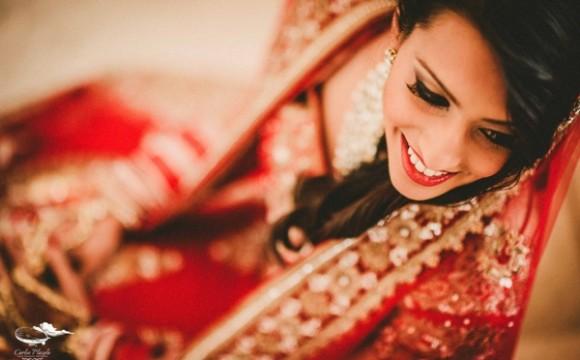 Hindu MakeUp for Jyoti's Dream Destination Wedding in Cabo San Lucas
