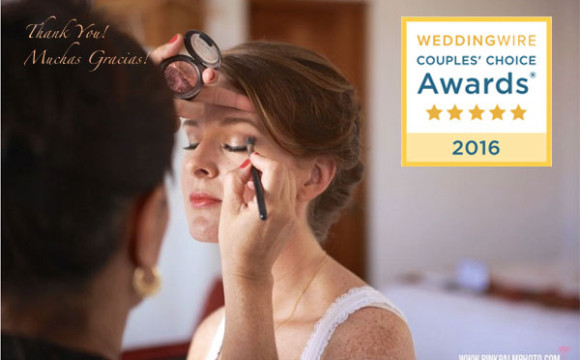 Alma Vallejo Cabo Makeup Wins a WeddingWire Couples' Choice Award® 2016